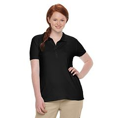 Juniors' Plus Size SO® Uniform Polo Top