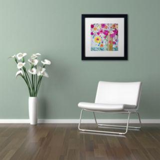 Trademark Fine Art Sunshine Daydream Matted Framed Wall Art