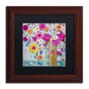 Trademark Fine Art Sunshine Daydream Framed Wall Art