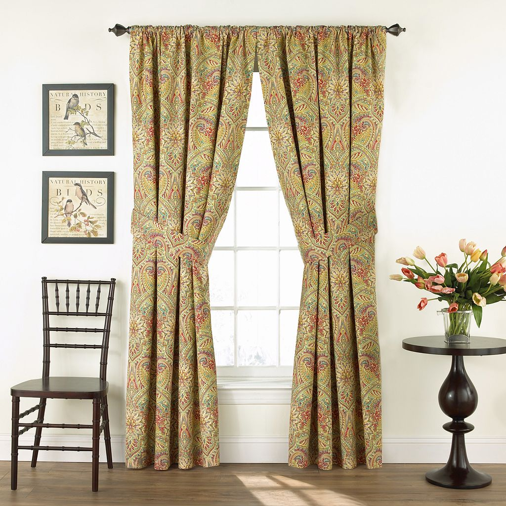 Waverly 2-pack Swept Away Floral Curtains