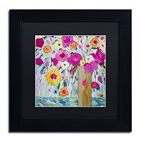 Trademark Fine Art Verdant Matted Framed Wall Art