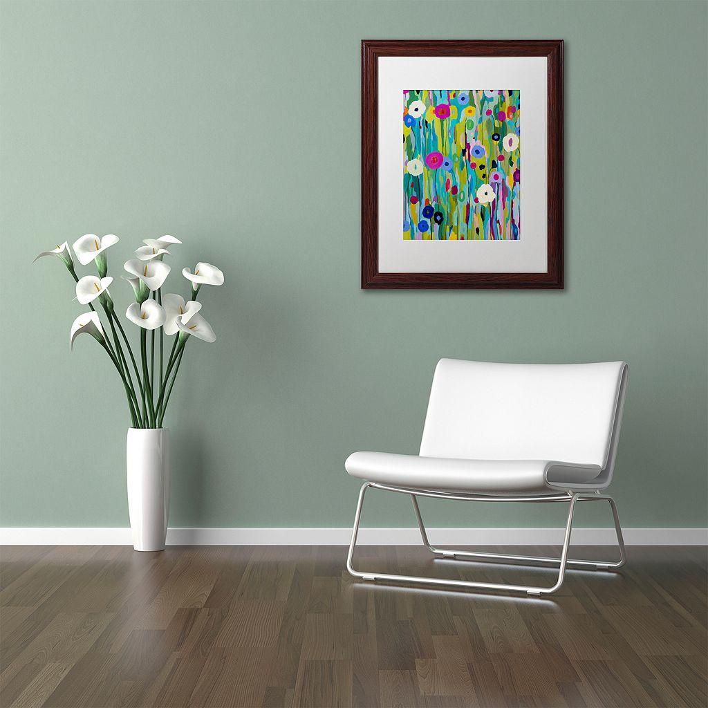 Trademark Fine Art Verdant Framed Wall Art
