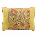 Waverly Swept Away Reversible Oblong Throw Pillow