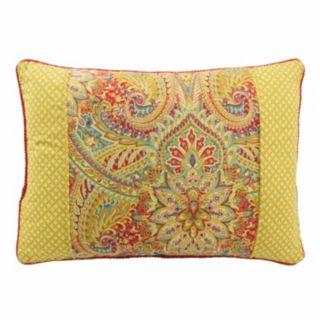 Waverly Swept Away Reversible Oblong Throw Pillow