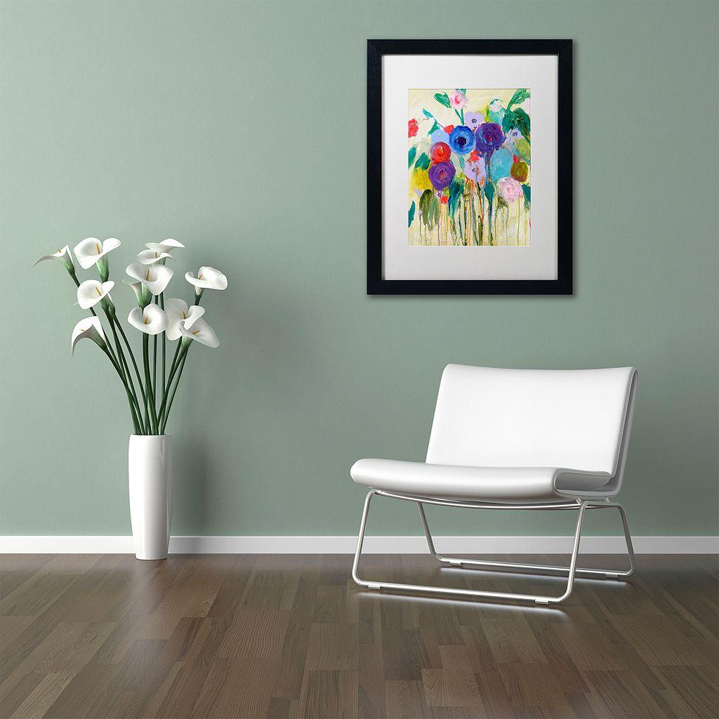 Trademark Fine Art Cest La Vie Matted Framed Wall Art