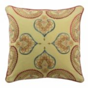 Waverly Swept Away Embroidered Throw Pillow