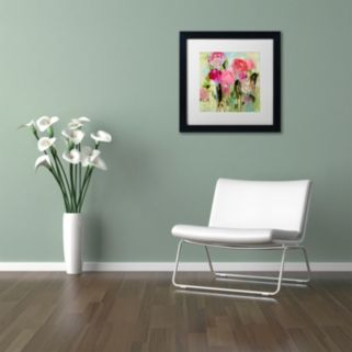 Trademark Fine Art Entre Nous Matted Framed Wall Art