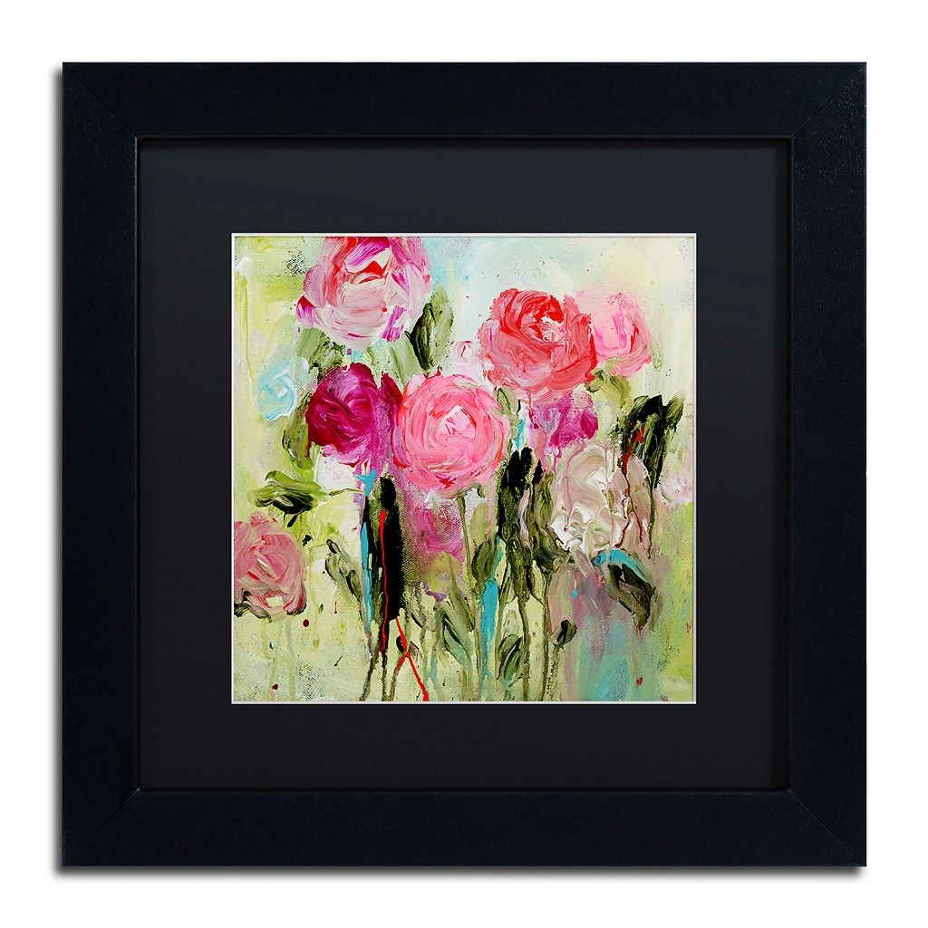 Trademark Fine Art Entre Nous Matted Framed Wall Art