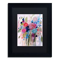 Trademark Fine Art Fresh Bouquet Matted Framed Wall Art