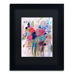 Trademark Fine Art Fresh Bouquet Matted Framed Wall Art