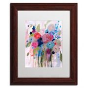 Trademark Fine Art Fresh Bouquet Framed Wall Art