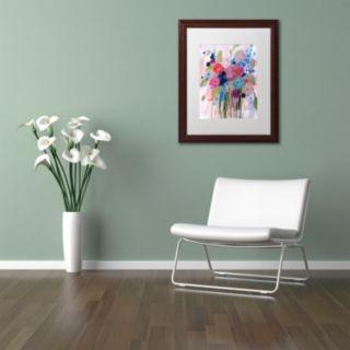 Trademark Fine Art Fresh Bouquet Framed Wall Art