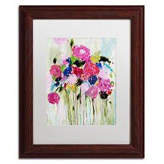Trademark Fine Art Mi Amor Framed Wall Art