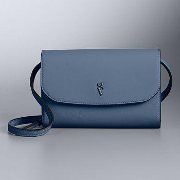 fc0d2844ee Simply Vera Vera Wang Signature Envelope Crossbody Bag