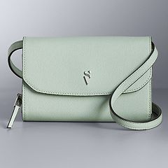 Simply Vera Vera Wang Signature Envelope Crossbody Bag