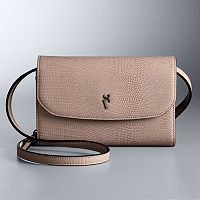 Simply Vera Vera Wang Signature Envelope Crossbody Bag Deals