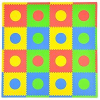 Tadpoles 32-pc. Circles Foam Playmat