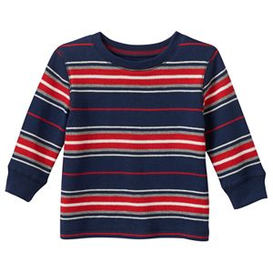 Baby Boy Jumping Beans® Striped Thermal Tee