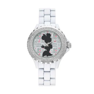 "Disney's Minnie Mouse ""Glam Dots"" Women's Crystal Watch"