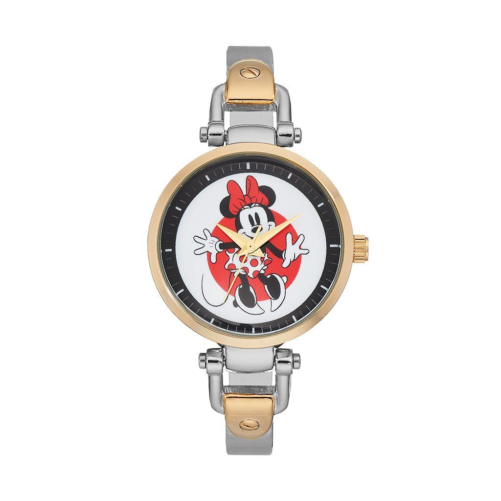 Disney's Minnie Mouse Women's Half Bangle Watch