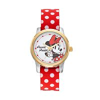 Disney's Minnie Mouse Women's Two Tone Polka Dot Reversible Watch