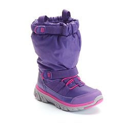 Stride Rite Made 2 Play Girls' Water-Resistant Sneaker Boots by