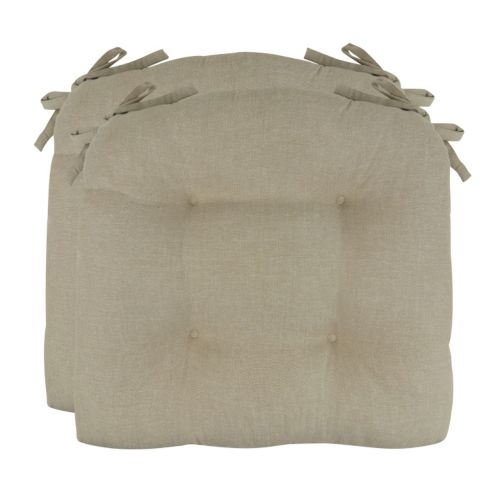 Park B. Smith Chambray Chair Pad 2-pk.