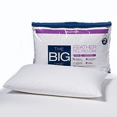 The Big One® 2-pack Feather Pillow