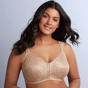 1f54778f5a1 Just My Size Bras: 2-pack Super Sleek Front Closure Full-Figure Wire ...