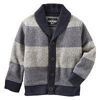 Boys 4-7x OshKosh B'gosh® Striped Shawl Cardigan Sweater