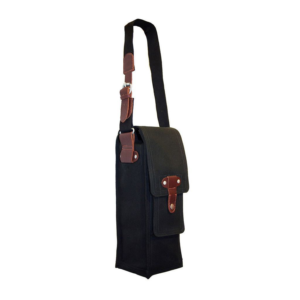 Park B. Smith Cargo Single Bottle Wine Bag