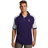 Men's Antigua Colorado Rockies Century Polo