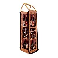 Park B. Smith Crates of Wine Single Bottle Wine Bag