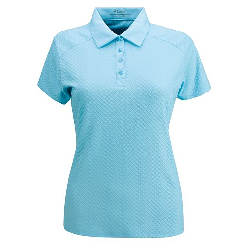 473e478903e Plus Size Nancy Lopez Grace Short Sleeve Golf Polo
