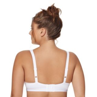 Just My Size Bras: 2-pack Active Lifestyle Full-Figure Wire-Free Bra K220