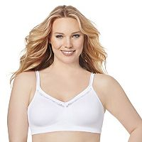 Just My Size Bras: 2-pack Smoothing Full-Figure Wire-Free Bra1259