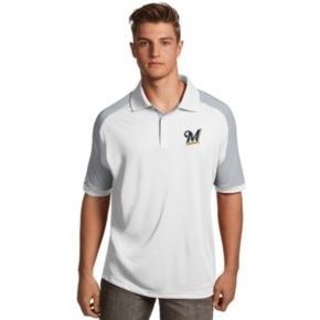 Men's Antigua Milwaukee Brewers Century Polo