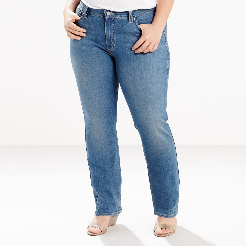 size levi's® 414 relaxed fit straight-leg jeans
