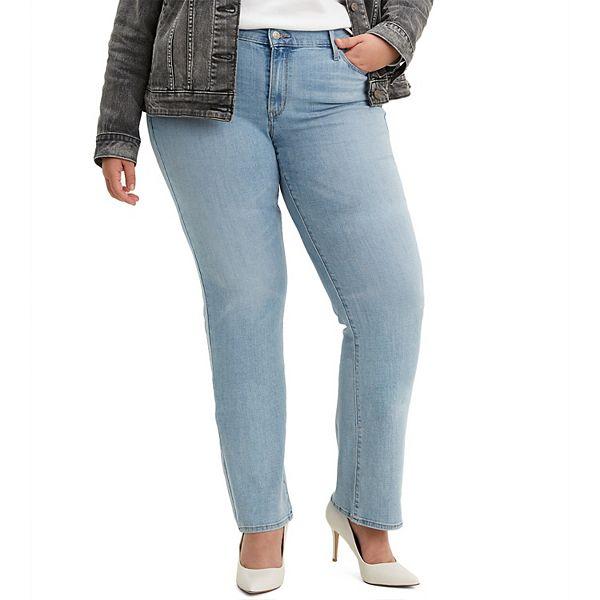 Plus Size Levi S Classic Fit Straight Leg Jeans Buy women's straight jeans now! plus size levi s classic fit straight leg jeans
