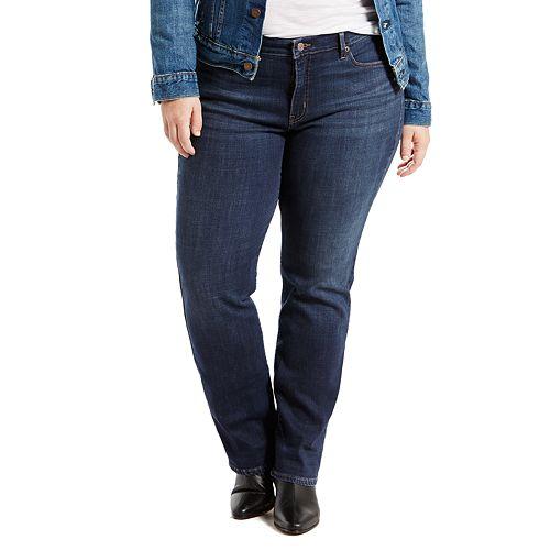 473fb5ff8a Plus Size Levi s® Classic Fit Straight-Leg Jeans