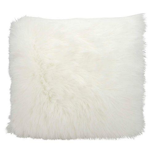 Mina Victory Faux Fur Throw Pillow