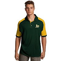 Men's Antigua Oakland Athletics Century Polo