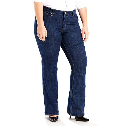 afe8f99236a Plus Size Levi s® Classic Fit Bootcut Jeans
