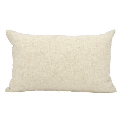 Mina Victory Home for the Holidays ''Peace'' Oblong Throw Pillow
