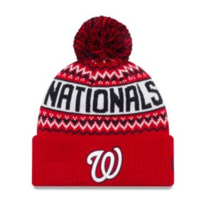 Adult New Era Washington Nationals Wintry Beanie
