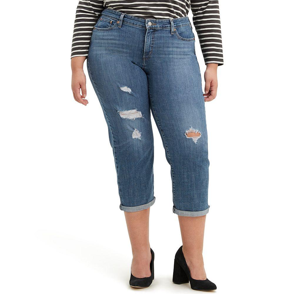 Plus Size Levi's® Boyfriend Jeans