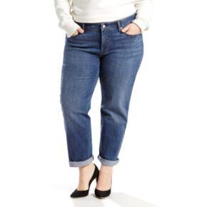 Plus Size Levi's Boyfriend Jeans