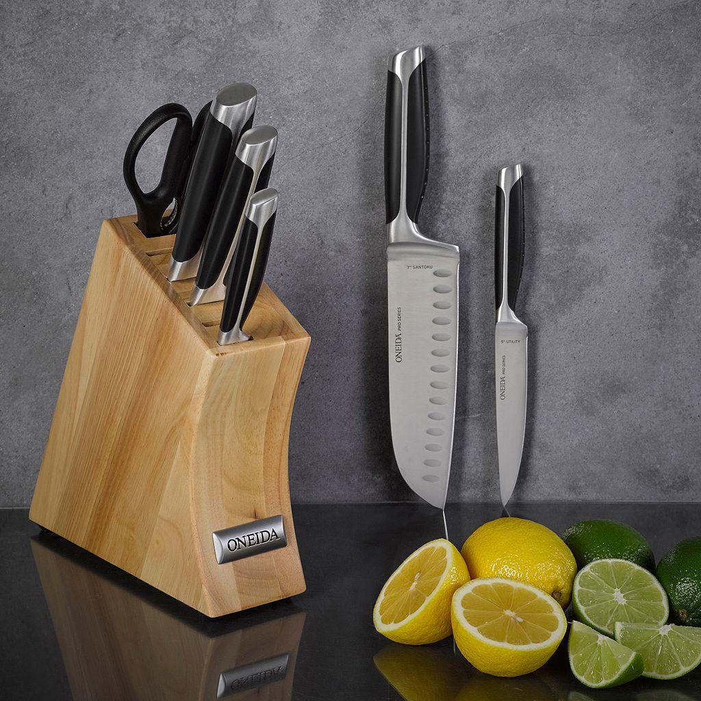 Oneida 7-pc. Pro Side Tang Cutlery Set