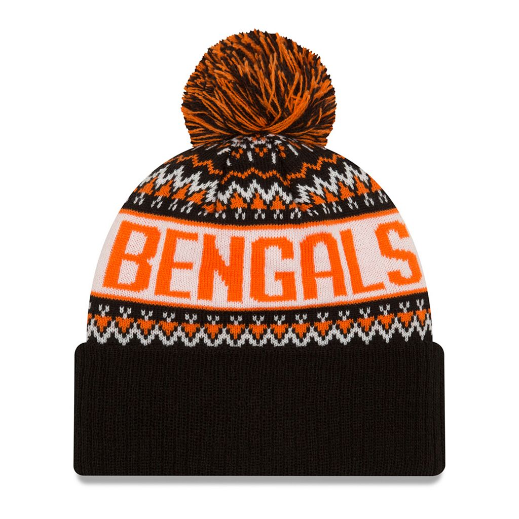 Adult New Era Cincinnati Bengals Wintry Beanie