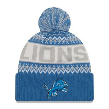 Adult New Era Detroit Lions Wintry Beanie